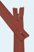 18cm Zipper Talon #3 Skirt & Dress Closed Bottom ~ 112 Shimney Rust