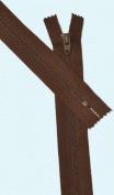 23cm Zipper Talon #3 Skirt & Dress Closed Bottom ~ Rusty Brown