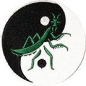 Praying Mantis Yin Yang 10cm Patch