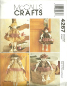 Peaceful Angels McCall's Crafts Sewing Pattern 4267