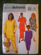 Butterick Easy #B4243 Woman's Petite Top, Skirt and Pants