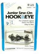 Hook & Eye Junior Sew-On