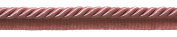Large 1cm Basic Trim Lip Cording (Light Rose), Sold by The Yard , Style# 0038S Colour