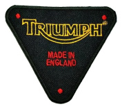 Triumph England Motorcycles Racing Classic Biker Logo Polo BT08 Patches