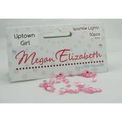 UPTOWN GIRL SPARKLE LIGHTZ 4mm Megan Elizabeth New Rhinestone Lights