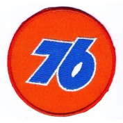 76 Union Oil & Gas Logo Sign Symbol Emblem Embroidered Sew Iron on Patch