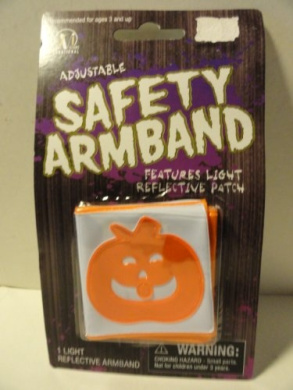 Adjustable Safety Armband Features Light Reflective Patch