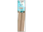 Ziplon Coil Zipper 18cm Bone