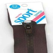 Sport Separating Zipper- YKK- Made in USA 36cm Black