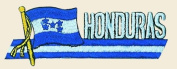Honduras Logo Embroidered Iron on or Sew on Patch