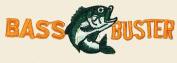 Bass Buster Logo Embroidered Iron on or Sew on Patch