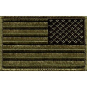 US Army Green Reverse Flag Patch