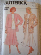 MISSES JACKET, SKIRT & TOP SIZE 6-14 FAST & EASY BUTTERICK SEWING PATTERN #4432