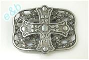 Brand:e & b Western Gothic Cross Enamelled Nice Belt Buckle Wt-061as