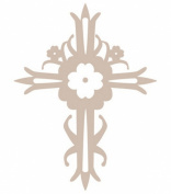 Jeaneology Iron-Ons-Cross Flock