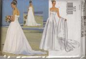 New Look B6925, Wedding Dress, Sz 6, 8, 10