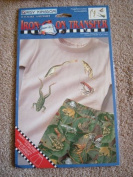 """DAISY KINGDOM """"FROGS"""" SHORTS SEWING PATTERN + IRON ON TRANSFER"""