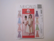 McCall's 2590 Girl's Dresses Size CH