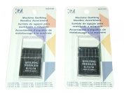 Sewing Machine Quilting Needle Assortment - 2 Packs of 5 Needles Per Package