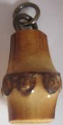 Wooden Bead Zipper Pull