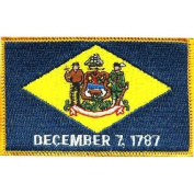 Delaware State Flag Patch