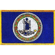 Virginia State Flag Patch