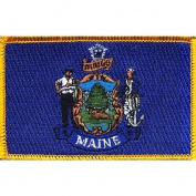 Maine State Flag Patch