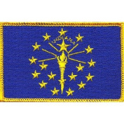 Indiana State Flag Patch