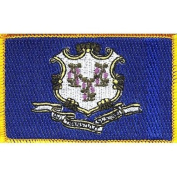 Connecticut State Flag Patch