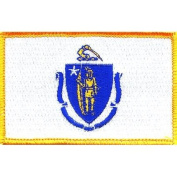 Massachusetts State Flag Patch