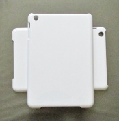 DIY White Hard Snap-on Cover Case for Apple Ipad Mini --- By Pixiheart