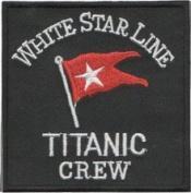 Titanic Crew (White Star Line) Patch 7.5CM X 7.5CM