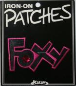 Foxy Jewel Iron On Applique Patch