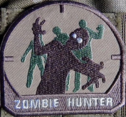 Zombie Hunter brown patch