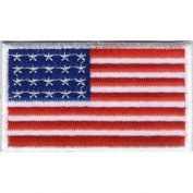 USA Flag Iron On Patch