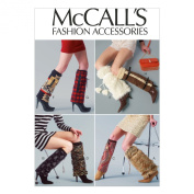 McCall Pattern Company M6809 Boot Wraps Sewing Template, One Size Only