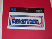 Amanda Blu - All American Boy Iron-on Applique