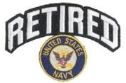Navy Retired Patch