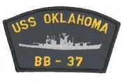 USS Oaklahome BB-37 Patch