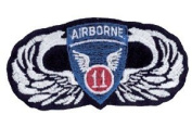 11th Divison Airborne Patch - Wings