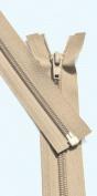 90cm Light Weight Jacket Zipper ~ YKK #5 Nylon Coil Separating Zippers - 573 Beige