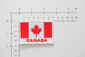 Canada Flag Patch Canadian Flag Sew on Embroidered