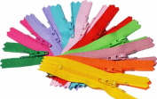 5.1cm Doll Zipper YKK #3 Skirt & Dress Zippers ~ Assortment of Colours