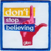 "Glee TV Show ""Don't Stop Believing"" Iron-on Patch"