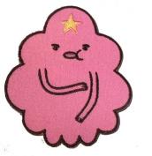 Adventure Time Cartoon Network Tv Show - Lumpy Face Logo Iron on Patch