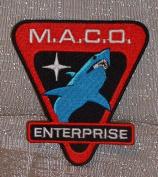 Star Trek Enterprise MACO Commandos Shark Logo PATCH
