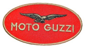 Moto Guzzi Motorcycles Racing Logo Clothing BM05 Embroidered Patches