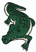 Crocodile Animal Sew-on Iron-on Patches Embroidered Applique