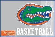 Florida Gators BASKETBALL w/ GATOR HEAD LOGO #2 Vinyl Decal Car Truck Window UF Mom Sticker