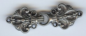 "Solid Pewter ""Laila"" Cloak or Cape Clasp"